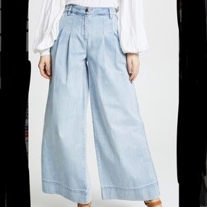NWT ULLA JOHNSON emmitt trousers